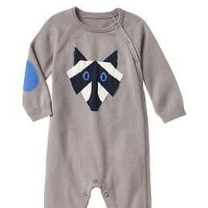 Baby Gap raccoon outfit 0-3 months